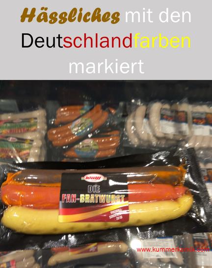 Hässliches - Bratwurst